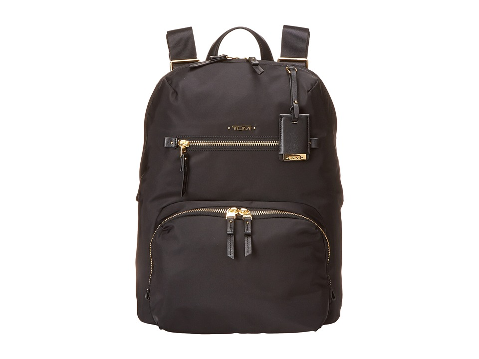 Tumi - Voyageur Halle Backpack (Black) Backpack Bags
