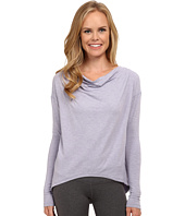 New Balance - Draped Layer Long Sleeve Top
