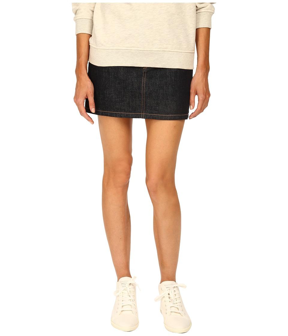 Marc by Marc Jacobs Icon Mini Denim Rinse Womens Skirt
