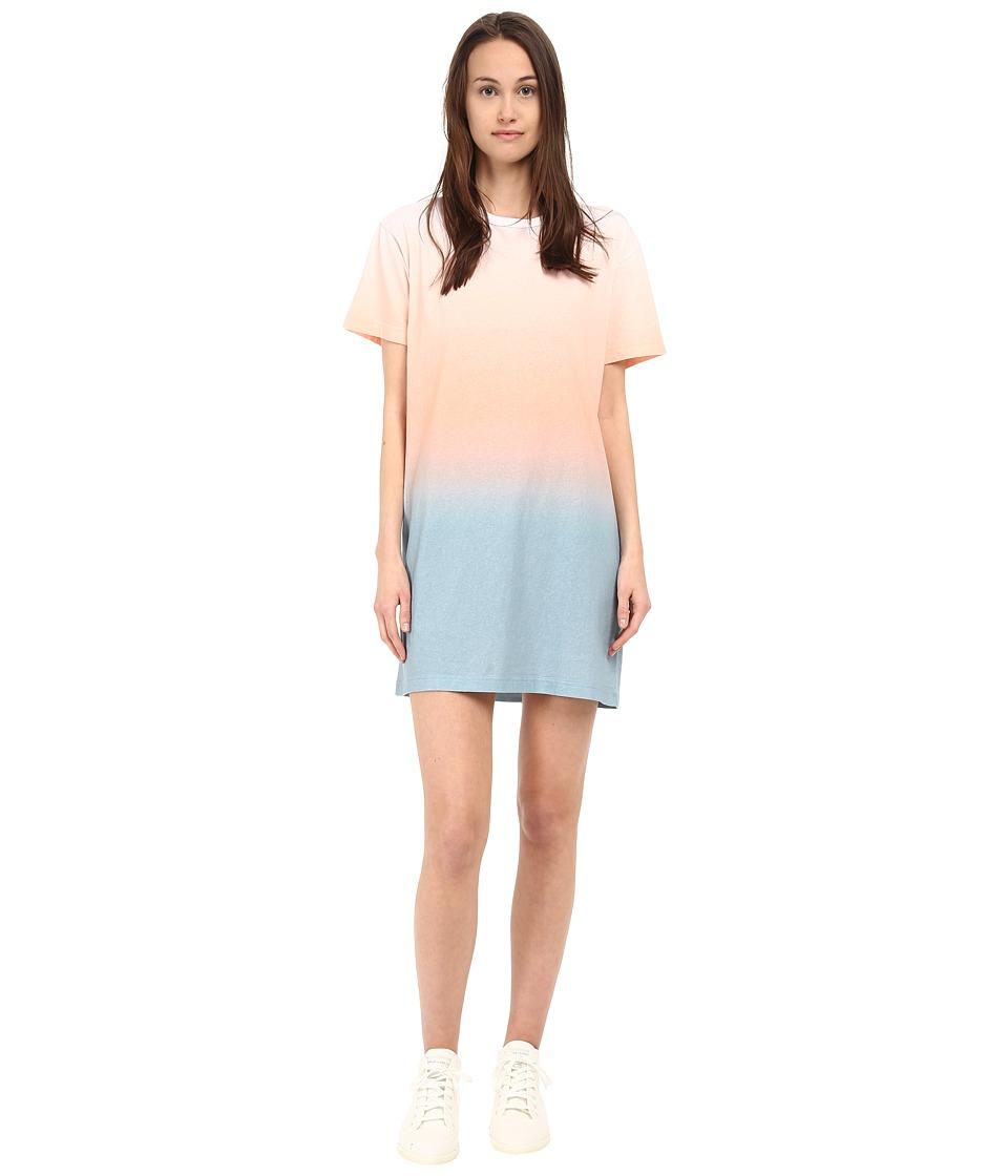 Marc by Marc Jacobs Ombre Dress Copen Blue Multi Womens Dress