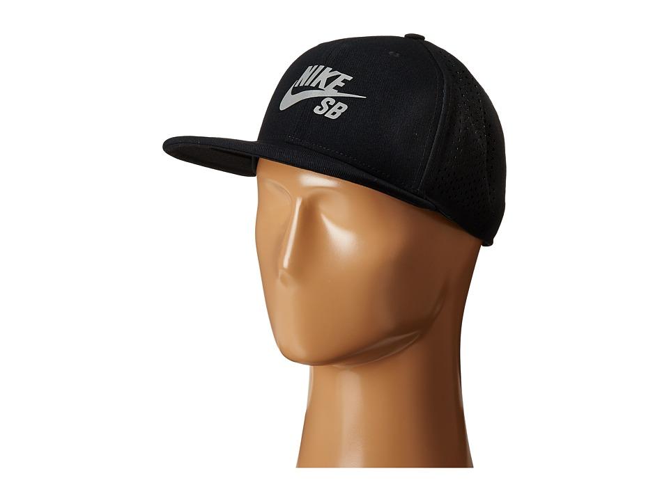 UPC 666003790142 product image for Nike SB - Performance Pro Trucker  (Black Black  ... 369954db07e