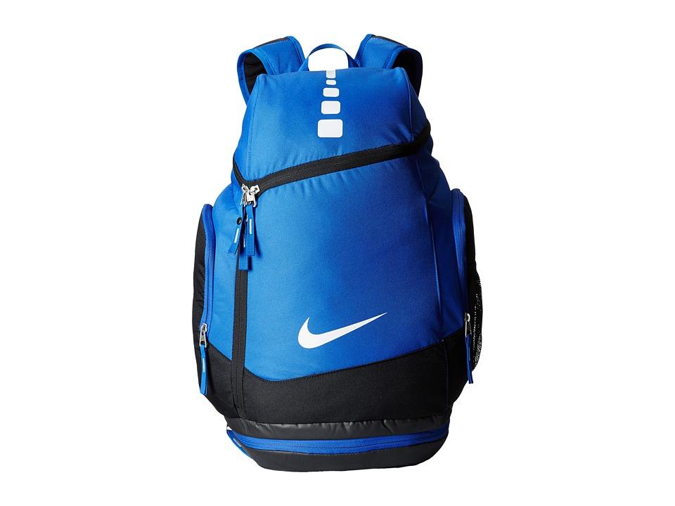 Nike - Hoops Elite Max Air Team Backback (Game Royal/Black/White) Backpack Bags