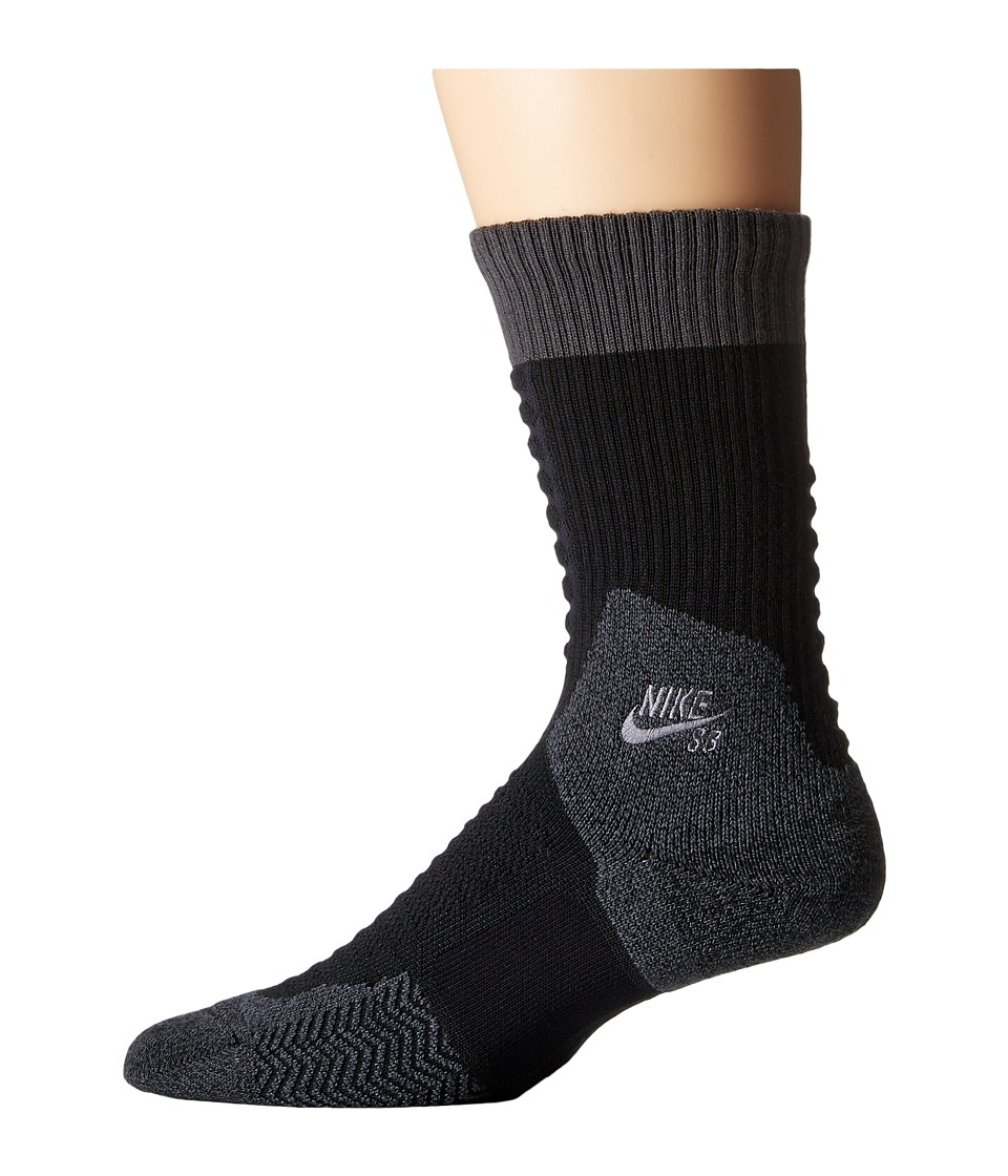 Nike - Skate Crew 2.0 Sock (Black/Anthracite/Anthracite) Crew Cut Socks Shoes