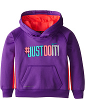 Nike Kids - Just Do It Therma Fit Pullover Hoodie (Toddler)