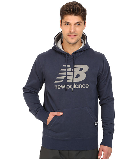 new balance pullover hoodie navy reflective. Black Bedroom Furniture Sets. Home Design Ideas