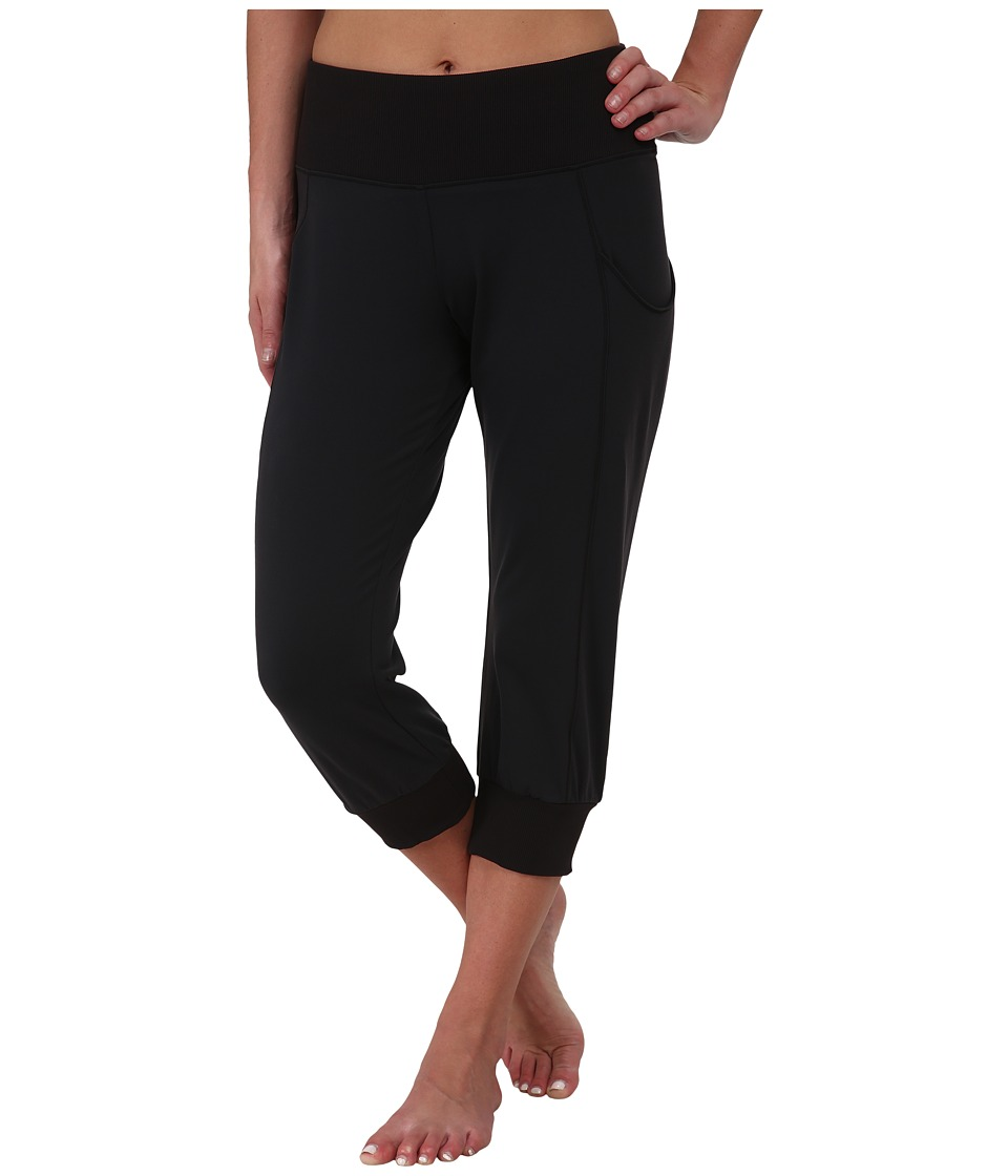 Lucy Dance Workout Capri Lucy Black Womens Capri