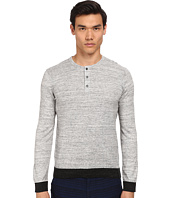 Vince - Long Sleeve Henley Sweater