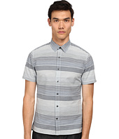 Vince - Striped Short Sleeve Button Up Shirt