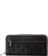 Marc by Marc Jacobs - Luna Studs Slim Zip Around