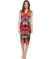 Ted Baker - Bismii Tropical Toucan Cap Sleeve Dress