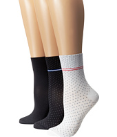 HUE - Smooth Bitsy Sock 3-Pair Pack