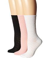 HUE - Femme Pucker Sock 3-Pair Pack