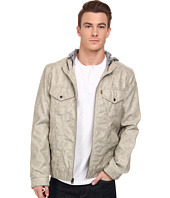 Levi's® - Faux Leather Two-Pocket Hoodie