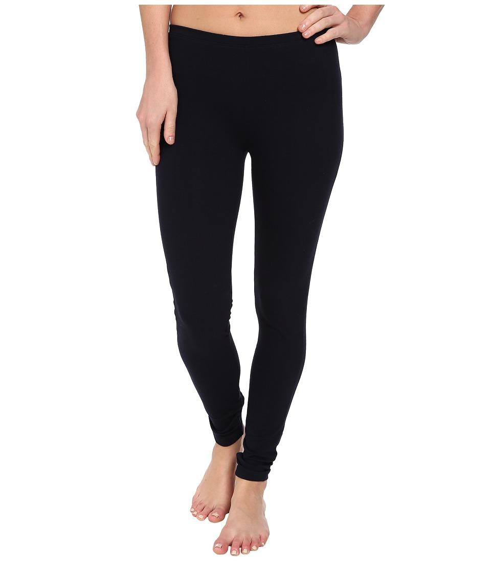 HUE Cotton Legging (Navy) Women's Casual Pants