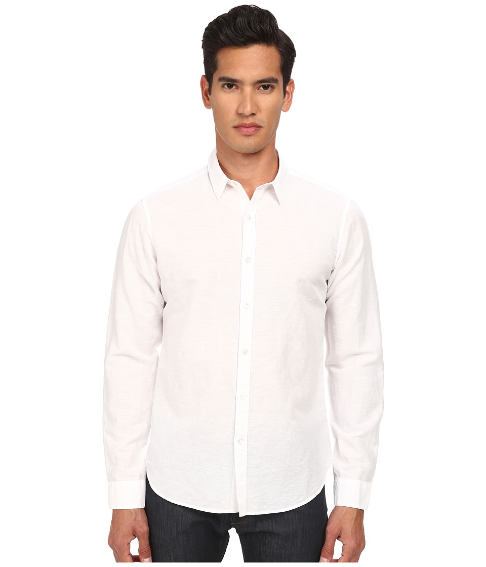 Theory Zack PS Rotuma White Mens Clothing