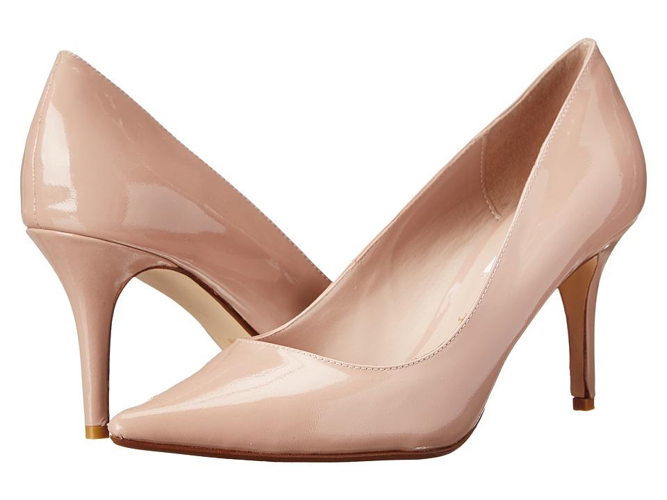 Dune London Alina Nude Patent High Heels