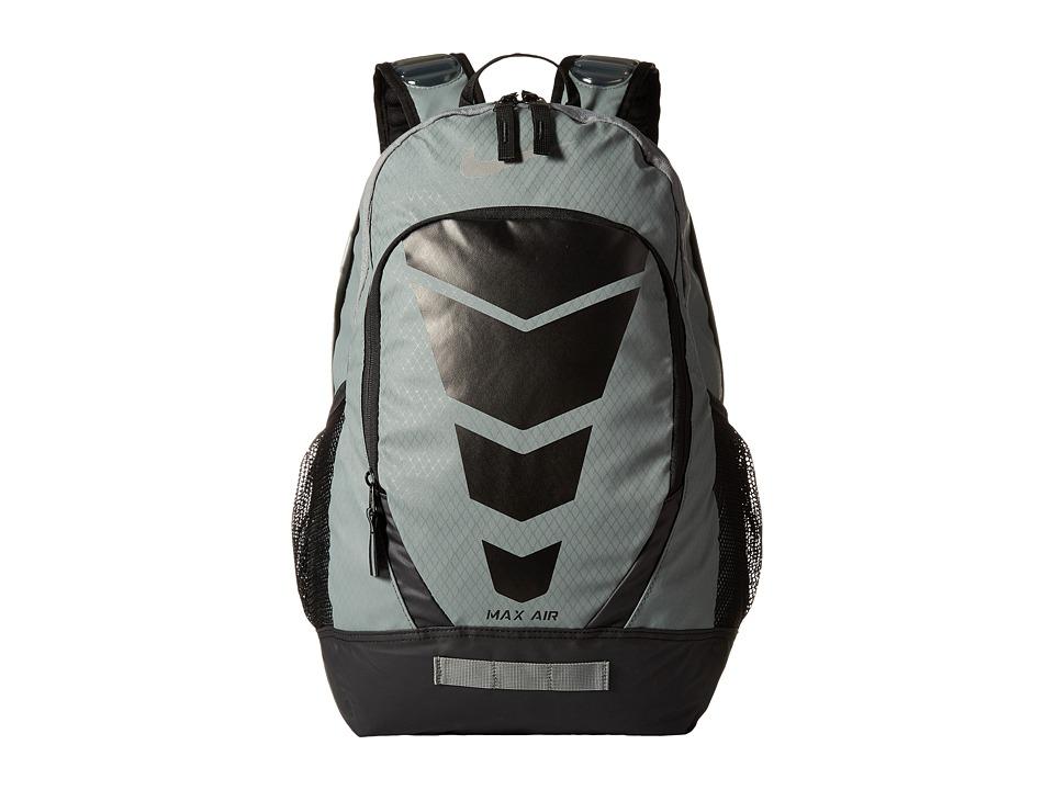 Nike - Max Air Vapor Backpack Large (Tumbled Grey/Black/Metallic Silver) Backpack Bags