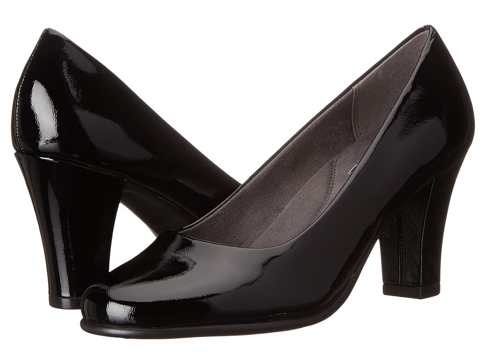 Aerosoles Dolled Up (Black Patent Leather) Women