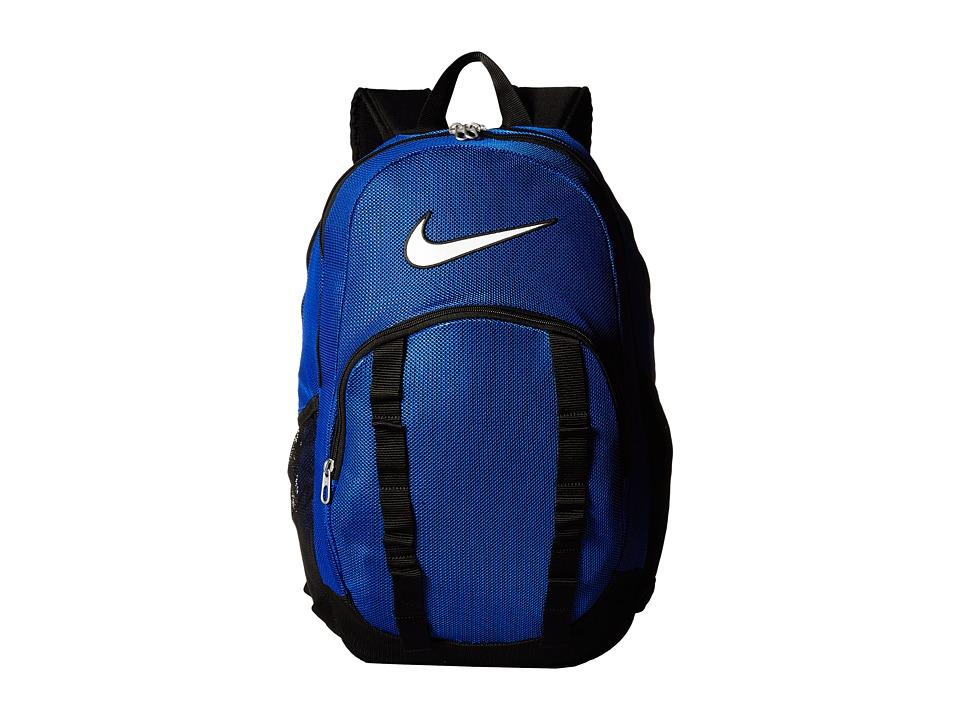 Nike - Brasilia 7 Backpack Mesh XL (Game Royal/Black/White) Backpack Bags