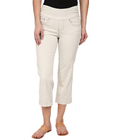 Jag Jeans Petite - Petite Caley Pull-On Crop Classic Fit in Stone