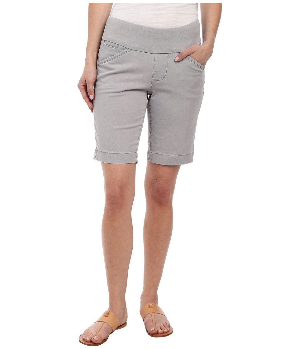 Jag Jeans Petite Petite Ainsley Pull On Classic Fit Bermuda Bay Twill Grey Morn Womens Shorts