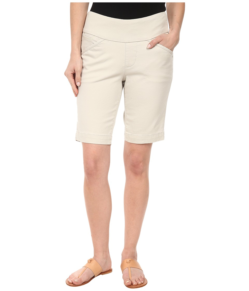 Jag Jeans Petite Petite Ainsley Pull On Classic Fit Bermuda Bay Twill Stone Womens Shorts