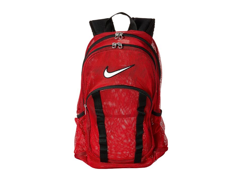 Nike - Brasilia 7 Backpack Mesh Large (Gym Red/Black/White) Backpack Bags