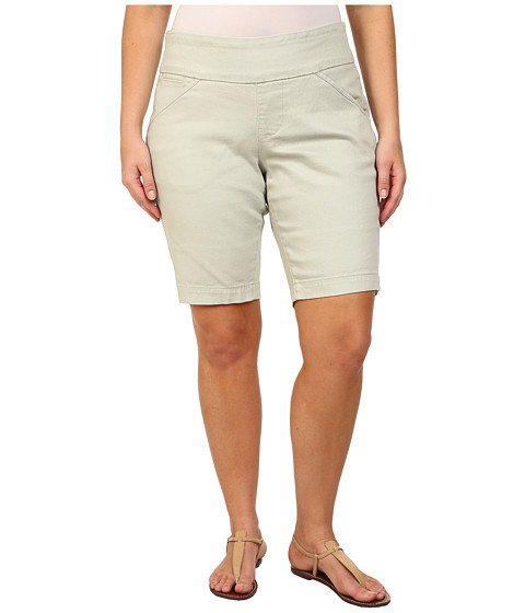 Jag Jeans Plus Size Plus Size Ainsley Pull-On Classic Fit Bermuda in Canvas Cloth