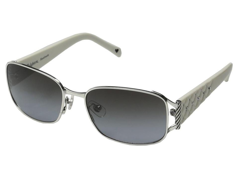 Brighton - Kiss (White/Silver) Fashion Sunglasses
