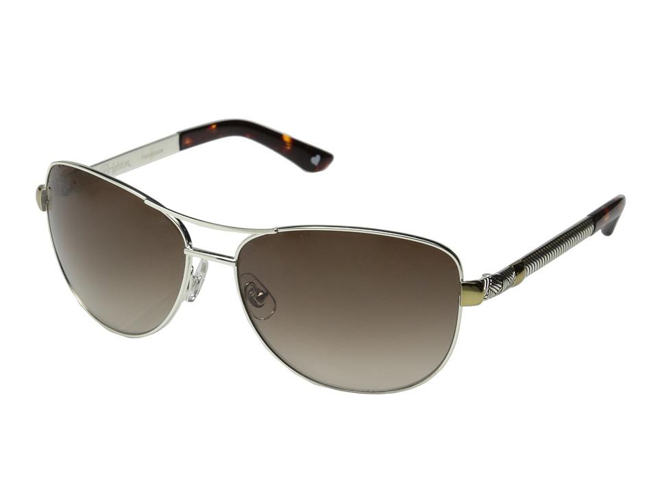 Brighton - Acoma (Tortoise/Silver) Fashion Sunglasses
