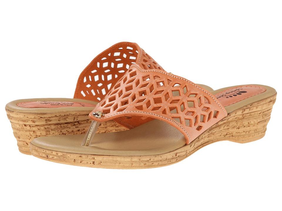 Spring Step Amerena Orange Womens Shoes