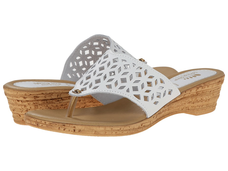 Spring Step Amerena White Womens Shoes