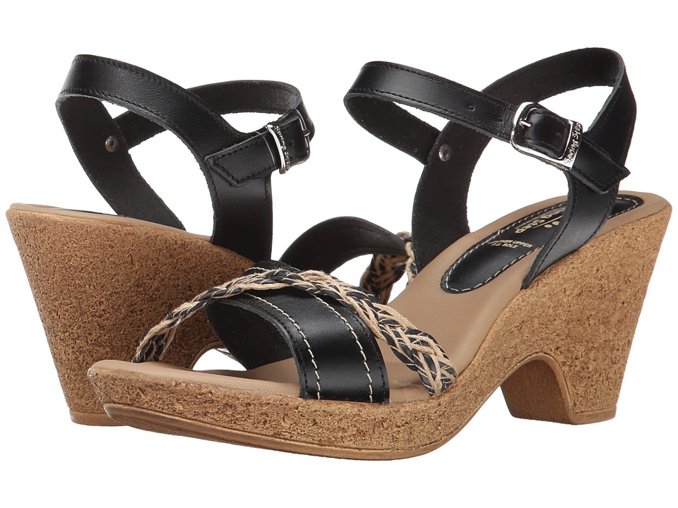 Spring Step Bliss Black Womens Shoes