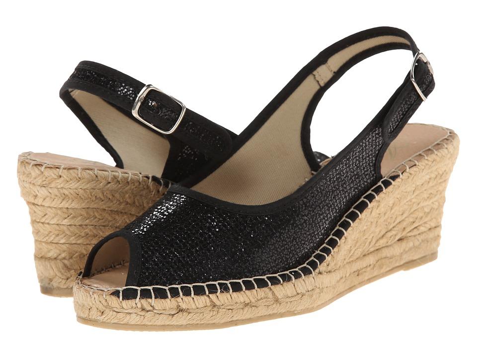 Spring Step Boltz Black Womens Shoes