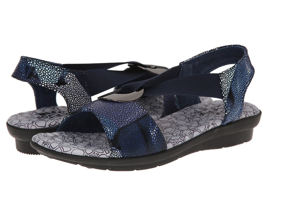 Spring Step Crespo Navy Womens Shoes