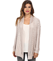 Autumn Cashmere - Multi Stitch Drape Cardigan