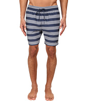 Jack Spade - Stripe Grannis Swim Trunks