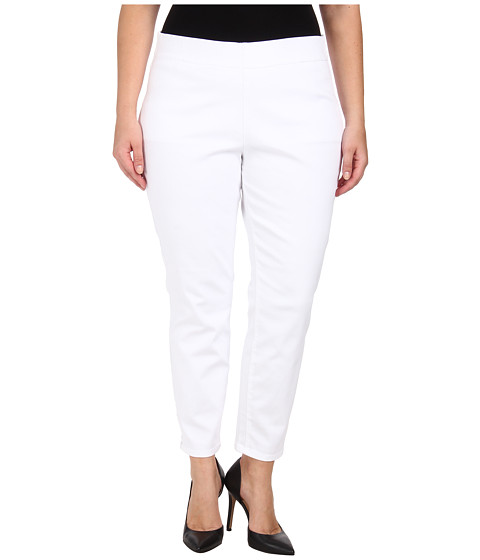 Jag Jeans Plus Size Plus Size Peri Straight in White - White