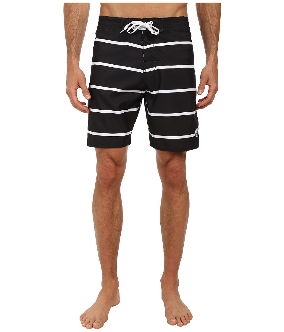 Body Glove Linez Boardshort Black Mens Swimwear
