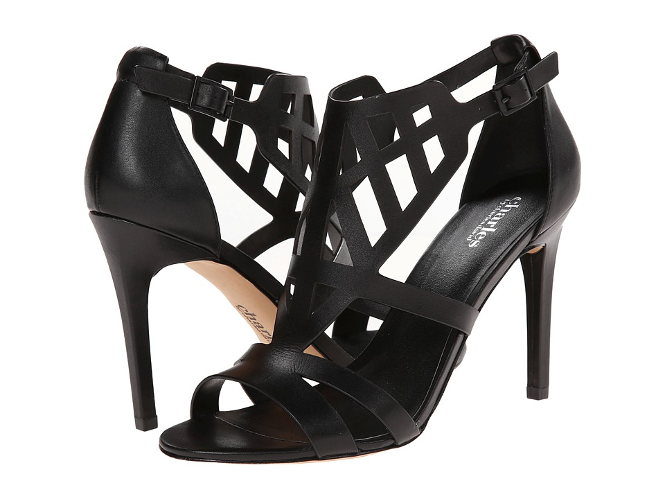 Shop Charles by Charles David online and buy Charles by Charles David Illustrate (Black Leather) High Heels online