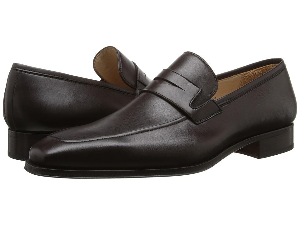 Magnanni Angel Brown Mens Slip on Dress Shoes