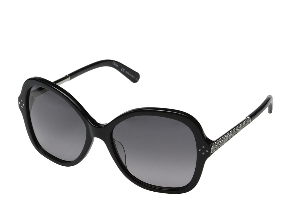 Chloe Boxwood Black Fashion Sunglasses