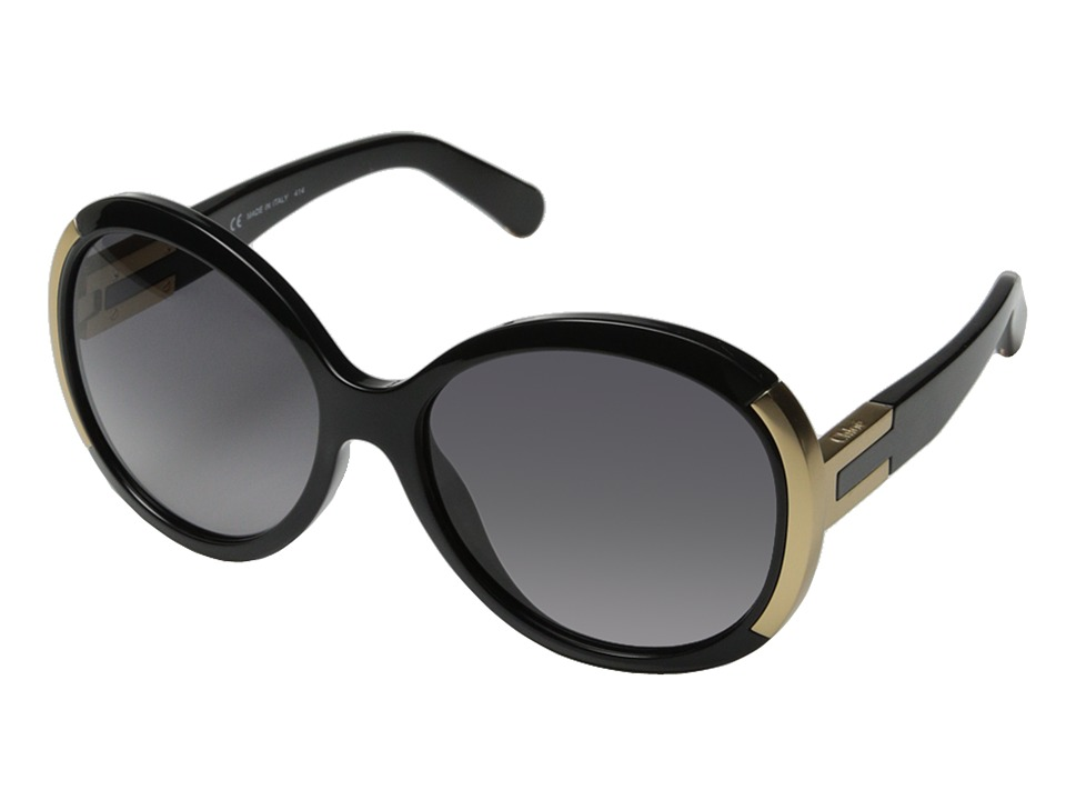 Chloe Alexie Black Fashion Sunglasses