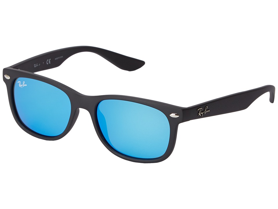 Ray Ban Junior RJ9052S New Wayfarer 47mm Youth Blue Fashion Sunglasses