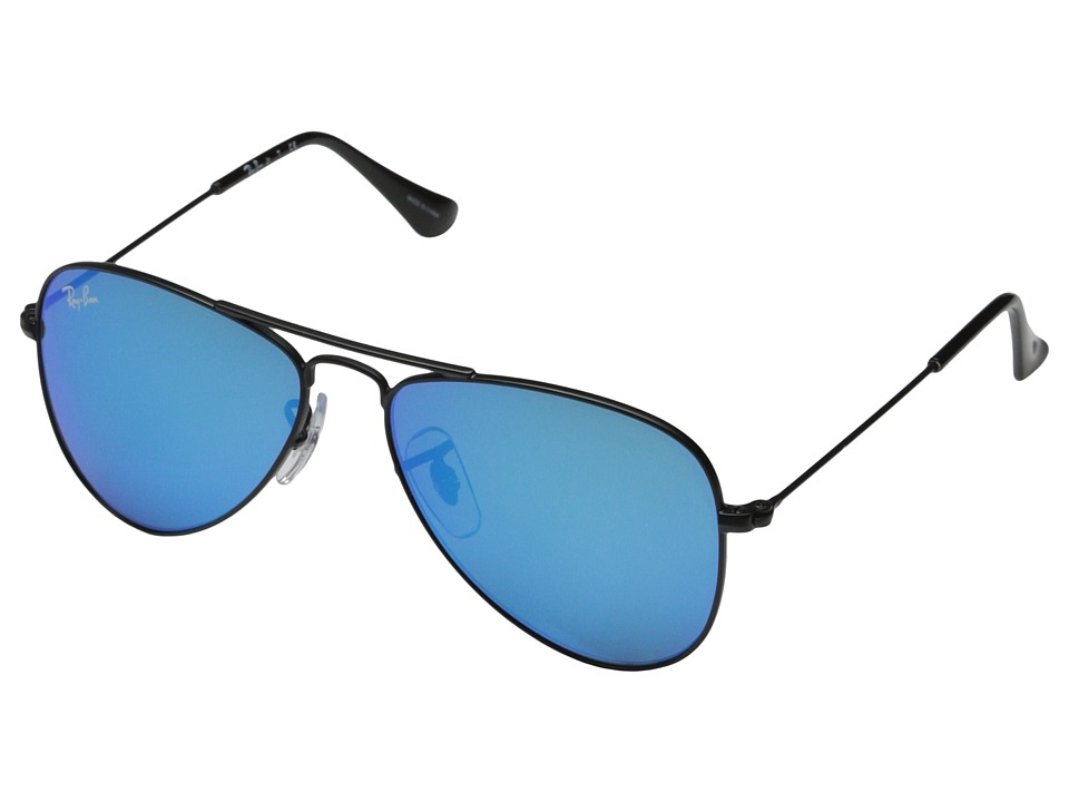 Ray-Ban Junior - RJ9506S Aviator 50mm (Youth) (Blue) Fashion Sunglasses