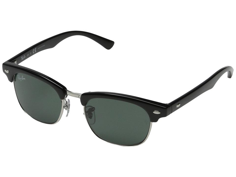 Ray-Ban Junior RJ9050S Clubmaster 45mm (Youth) (Black) Fashion Sunglasses