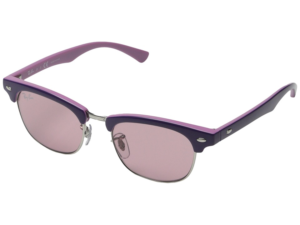 Ray Ban Junior RJ9050S Clubmaster 45mm Youth Violet Fashion Sunglasses