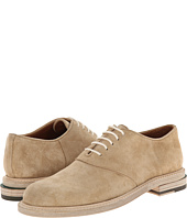 Band of Outsiders - Calf Suede Slipped Heel Saddle Shoe