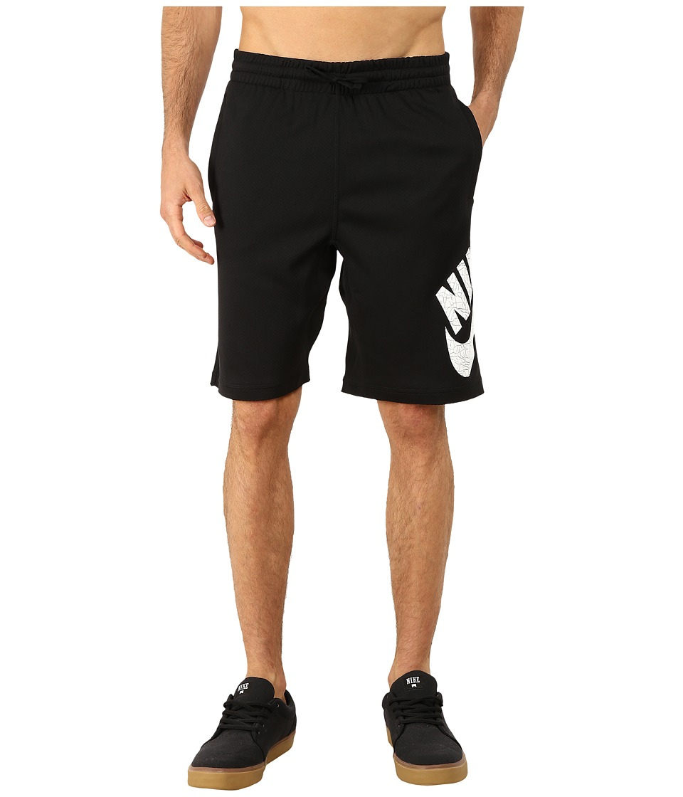 Nike SB SB Dri Fit Sunday Short Black/White Mens Shorts