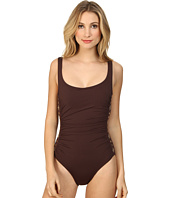 MICHAEL Michael Kors - Boho Solids U-Neck Shirred Maillot